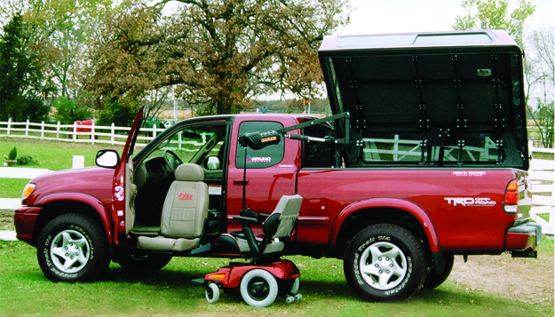 Bruno Truck with Valet Seat and Scooter Lift